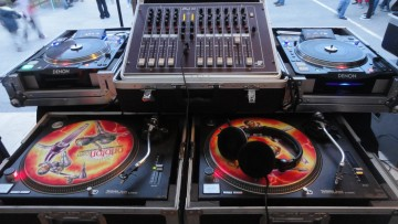 Platines DJ animations