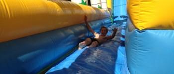 Toboggans aquatiques glissade enfant
