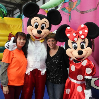 Mascotte Mickey et Minnie 1