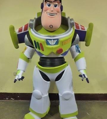 Mascotte Buzz l'éclair